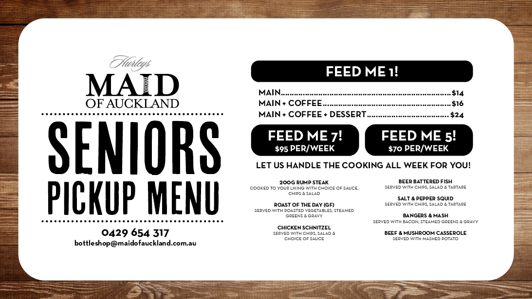 Maid of Auckland Adelaide Events